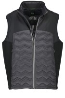 Hugo Boss dons Big & Tall bodywarmer B-Vei zwart