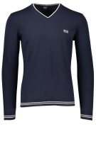 Hugo Boss Green trui navy v-hals Bime S18