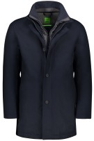 Hugo Boss Jas Donkerblauw Effen Normale fit