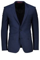 Hugo Boss Kostuum Blauw Effen Slim fit