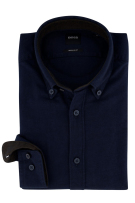 Hugo Boss overhemd Regular Fit navy