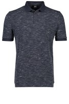 Hugo Boss Polo Shirt Donkerblauw Gemêleerd Normale fit