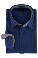 Hugo Boss shirt Regular Fit blauw