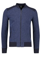 Hugo Boss Skiles vest structuur regular fit navy