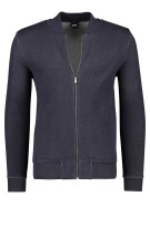 Hugo Boss Vest Donkerblauw Effen Slim fit