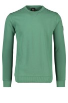 Hugo Boss Walkup sweater ronde hals groen