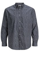 Jack & Jones casual shirt Plus Size donkerblauw