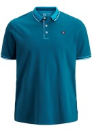 Jack & Jones Plus Size polo korte mouw koraal