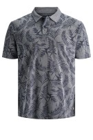 Jack & Jones Plus Size poloshirt print blauw