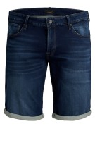 Jack & Jones Plus Size shorts blauw denim