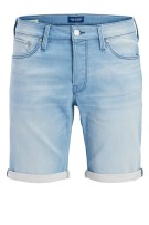 Jack & Jones Plus Size shorts denim lichtblauw