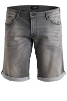 Jack & Jones Plus Size shorts grijs denim
