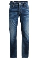 Jack & Jones Plus Size slim fit jeans blauw 5-pocket