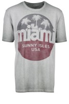 Jack & Jones Plus Size T-shirt grijs print