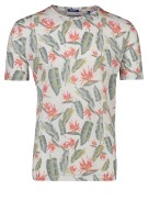 Jack & Jones Plus Size t-shirt groen print o-hals