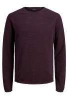 Jack & Jones Plus Size trui aubergine