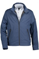 Jack State of Art ritssluiting blauw regular fit