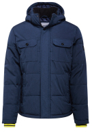 Jas Jack & Jones Puffer capuchon Plus Size