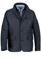 Jas State of Art donkerblauw polyester effen