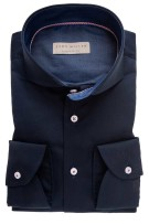 John Miller hemd Tailored Fit donkerblauw