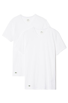Lacoste ondershirts wit v-hals 2-pack