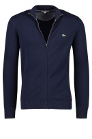 Lacoste Vest Donkerblauw Effen Normale fit