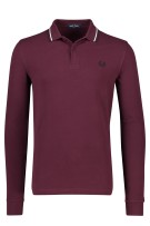 Lange mouwen polo bordeaux Fred Perry