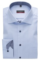 Lichtblauw shirt Eterna Modern Fit