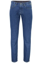 M.E.N.S. jeans Detroit blauw 5-pocket stretch