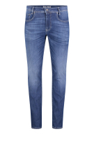 Mac 5-Pocket Broek Blauw Effen Slim fit