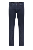 Mac 5-Pocket Broek Donkerblauw Effen Normale fit