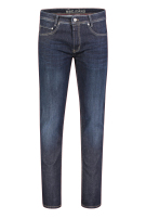 Mac 5-Pocket Broek Donkerblauw Effen Slim fit