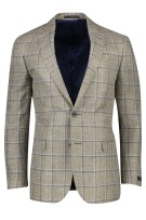 Magee colbert classic fit beige geruit