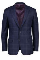 Magee colbert classic fit navy geruit