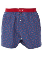 Mc Alson Boxershort Donkerblauw Print Normale fit