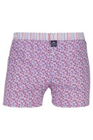 Mc Alson Boxershort Rood Blauw Print Normale fit