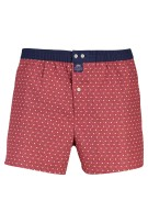 Mc Alson Boxershort Rood Geel Print Normale fit
