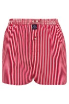 Mc Alson Boxershort Rood Gestreept Normale fit