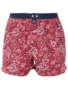 Mc Alson Boxershort Rood Print Normale fit