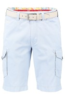 Meyer Short Blauw Effen Normale fit