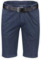 Meyer Short Donkerblauw Effen Normale fit