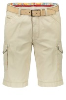 Meyer Short ORLANDO Beige Effen Normale fit