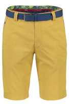 Meyer shorts B-Palma Geel Effen Normale fit
