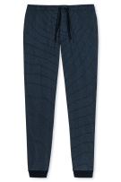 Mix & Relax pyjamabroek Schiesser navy ruit