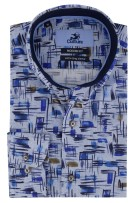 Mouwlengte 7 shirt Culture Modern Fit print