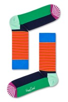 Multicolor Happy Socks Half Stripe Sock
