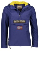 Napapijri Rainforest Summer jas blauw anorak