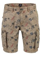 New Zealand Huka cargo short khaki print