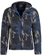 New Zealand Jas Blauw Print Normale fit