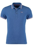 New Zealand Polo Shirt Blauw Effen Normale fit